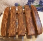 Solid wood soap dish WT